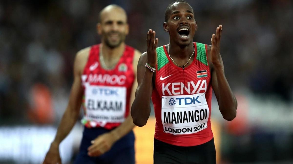 Dünya şampiyonu atlet Elijah Manangoi'ye 2 yıl men cezası