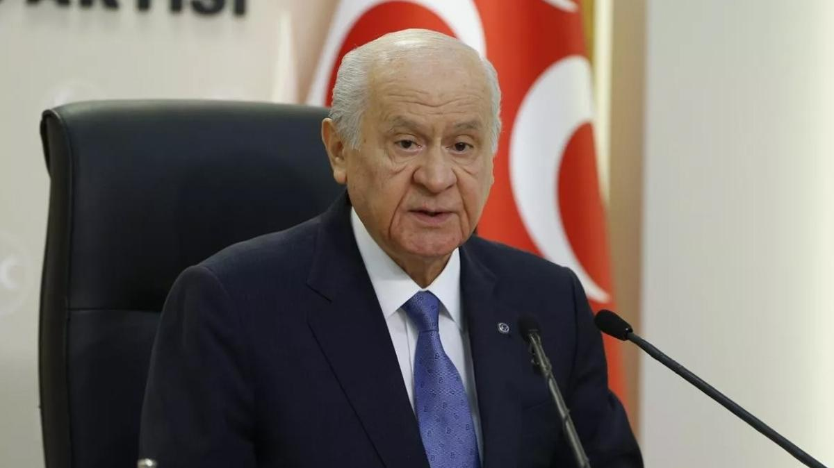 MHP lideri Bahçeli'den Ahmet Kekeç için başsağlığı mesajı