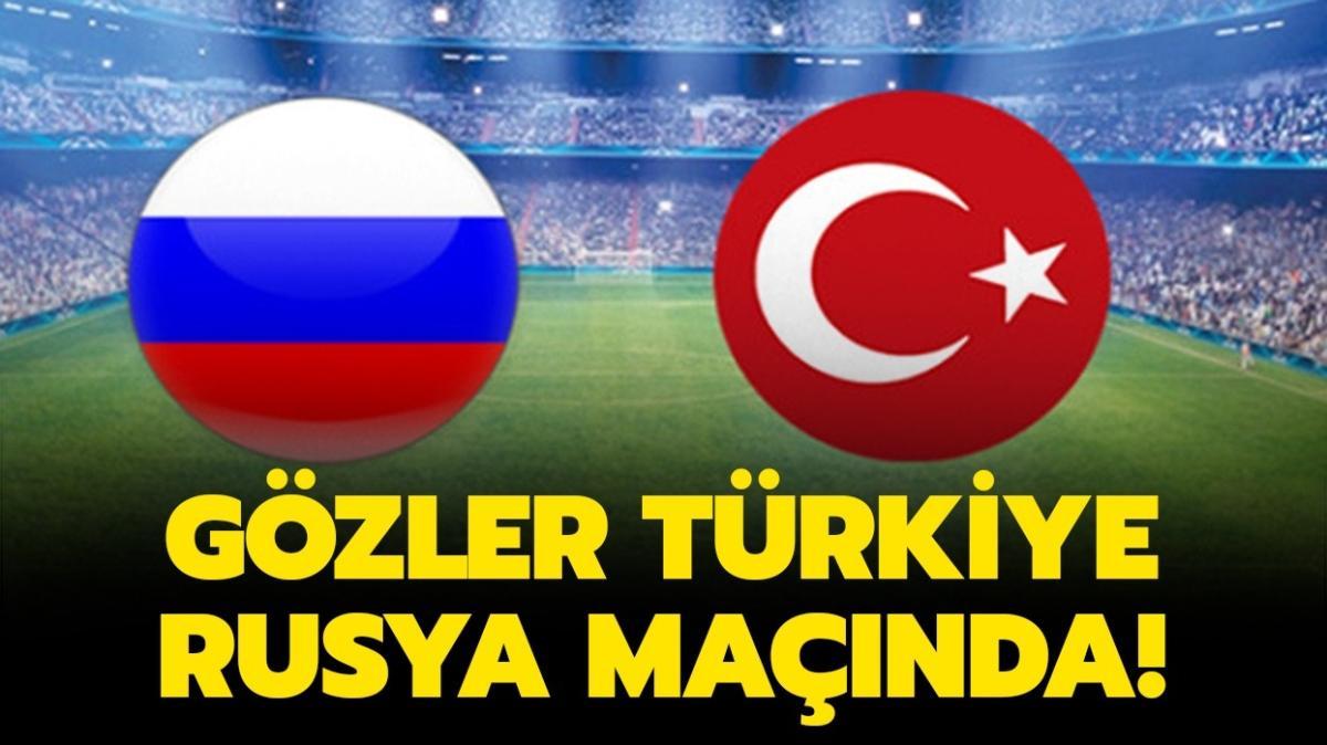 """Türkiye Rusya maçı hangi kanalda, şifreli mi"""" Türkiye Rusya maçı bu akşam saat kaçta"""""""