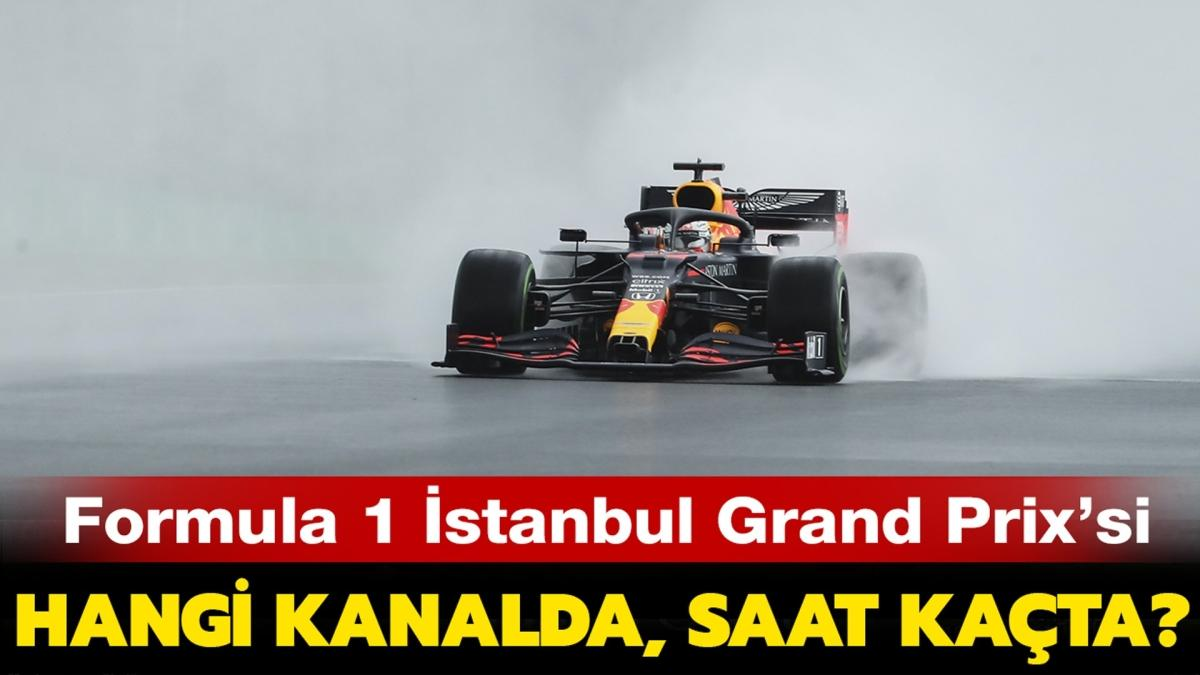 """Forumla 1 İstanbul yarışı hangi kanalda, nasıl izlenir""""  S Sport frekans bilgileri burada"""