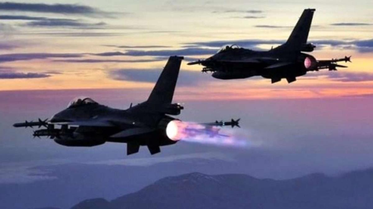 Irak'ın kuzeyine hava harekatı: 5 PKK'lı terörist etkisiz hale getirildi