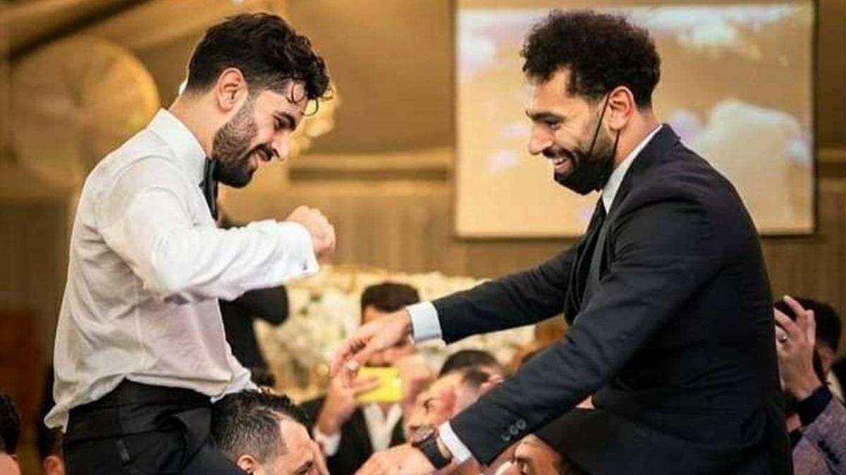 Muhammed Salah, kardeşi Nasr'ın düğününde koronavirüs kaptı