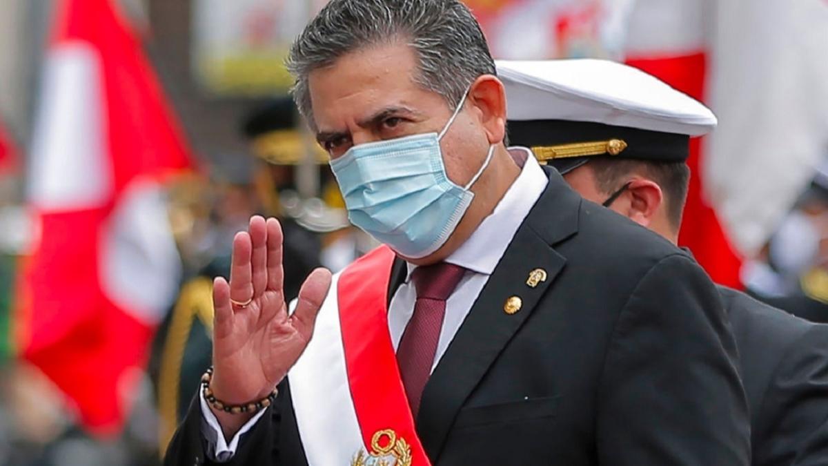 Peru'nun geçici Cumhurbaşkanı Merino istifa etti