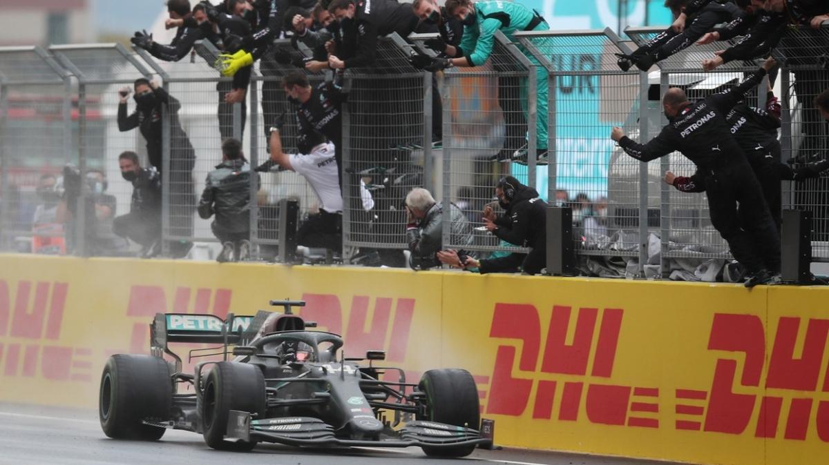Türkiye Grand Prix'sinde zafer Lewis Hamilton'ın! 7. şampiyonluğunu ilan etti