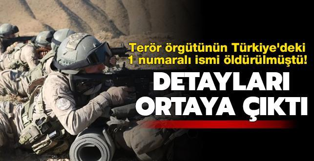 Terör örgütünün Türkiye'deki 1 numaralı ismi Tunceli'de öldürülmüştü! Detayları ortaya çıktı