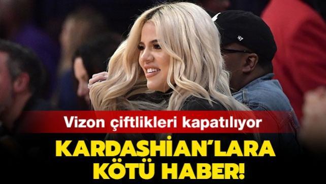 Vizon kirpik hayranı Kardashian'lara kötü haber: Vizon çiftliklerindeki hayvanlar koronavirüs mutasyonuna uğradı