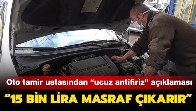 Oto tamir ustasından araç sahiplerine uyarı: 'Ucuz antifriz' kullanmayın 15 bin liralık masraf açabilir