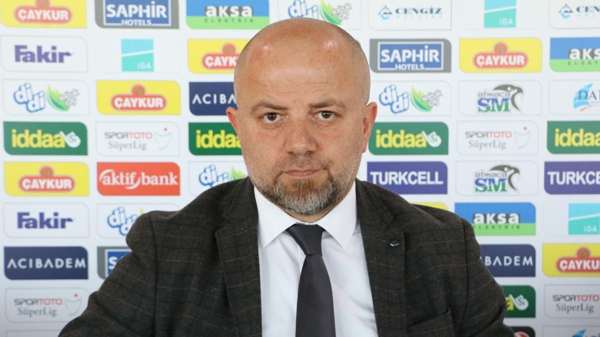 Çaykur Rizespor'da Hatayspor maçında hedef 3 puan