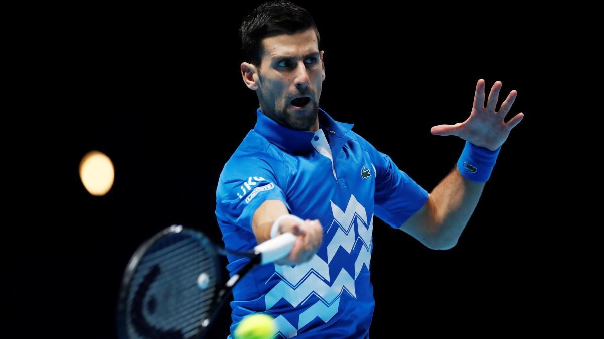 Djokovic, TP Finalleri'ne galibiyetle başladı