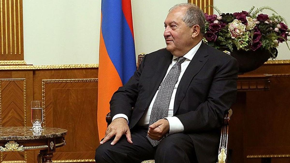 Ermenistan Cumhurbaşkanı Sarkisyan, BAE Veliaht Prensi bin Zayed ile görüştü