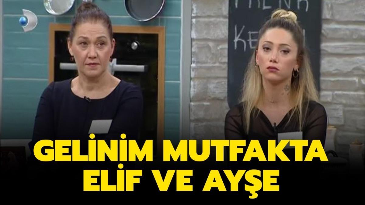 """Gelinim Mutfakta Elif Aktaş kaç yaşında, nereli"""" Gelinim Mutfakta Elif ve Ayşe kimdir"""""""