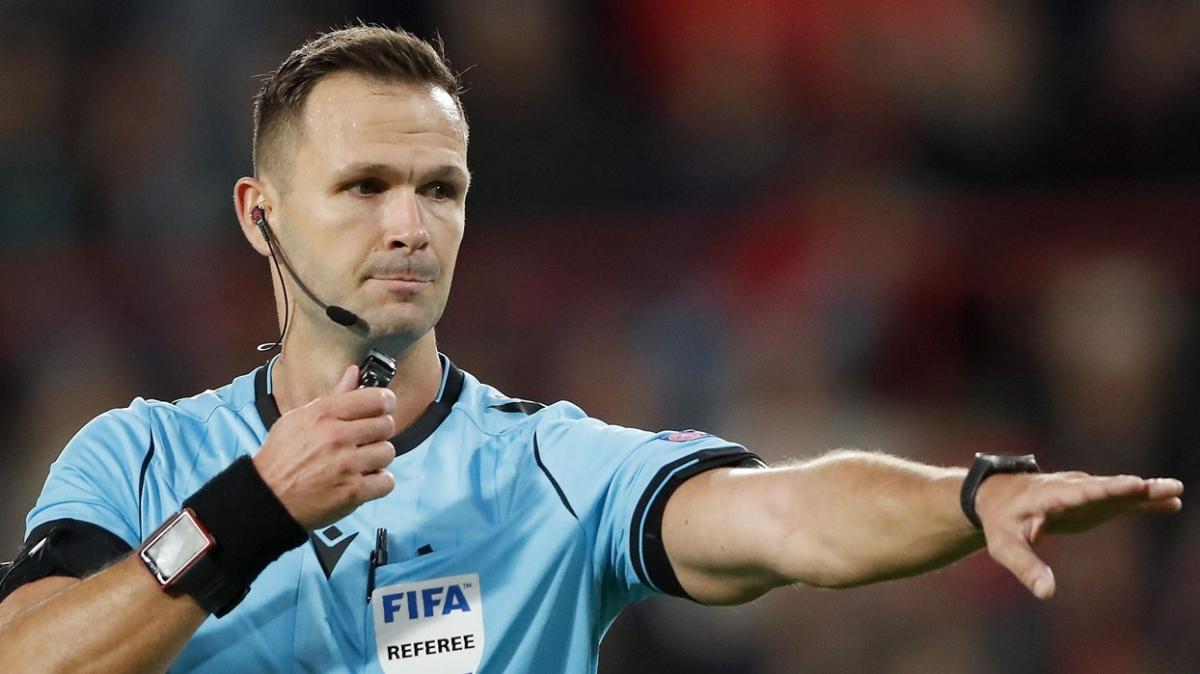 Macaristan-Türkiye maçında Ivan Kruzliak düdük çalacak
