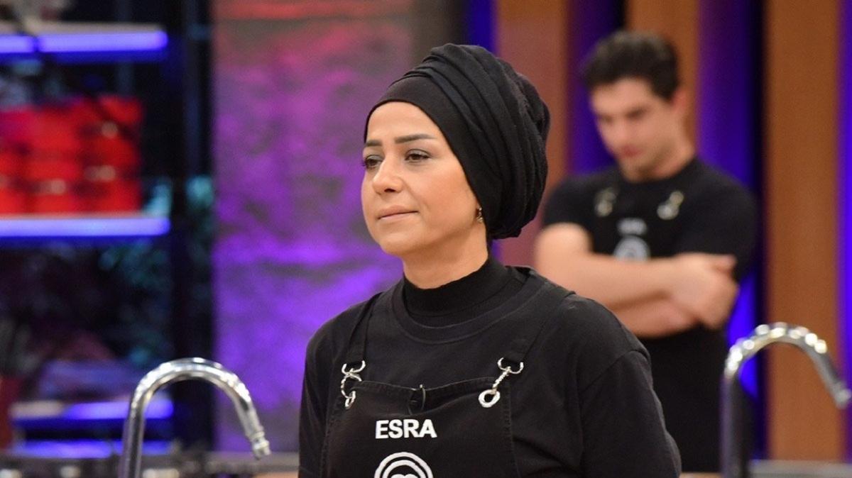 MasterChef'e gözyaşları içinde veda eden Esra'dan bomba açıklamalar