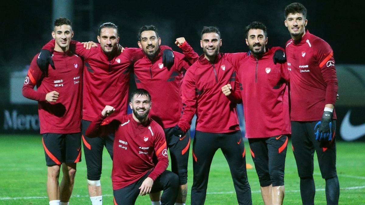 Milli Takım, Macaristan maçına hazırlanıyor