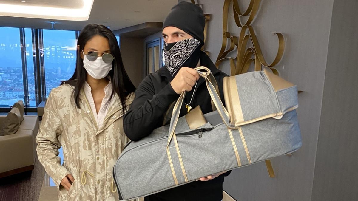 Soner Sarıkabadayı'dan eşine 500 bin liralık doğum hediyesi