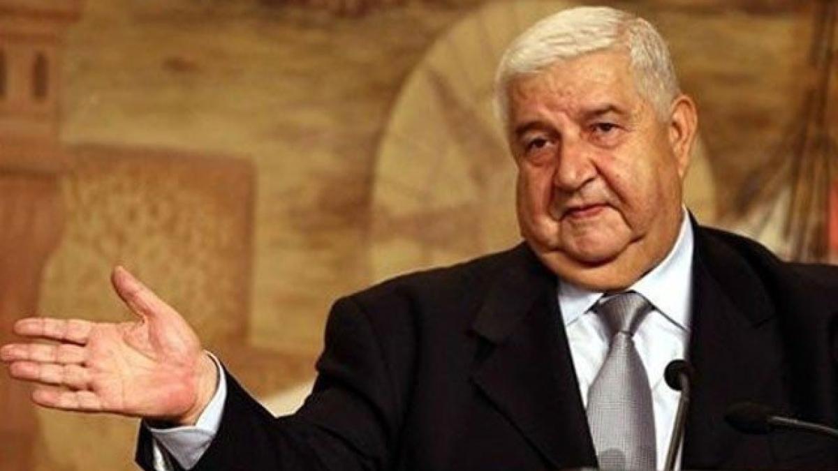 Suriye'de Esed rejiminin Bakanı Muallim öldü