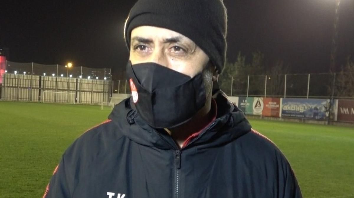 Tolunay Kafkas: Milli Takım'a 2-3 oyuncu verirsek görevimizi yapmış olacağız