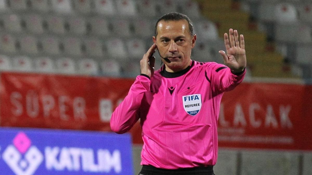 UEFA'dan Hüseyin Göçek ve Cüneyt Çakır'a görev
