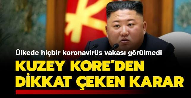 Ülkede hiçbir koronavirüs vakası görülmedi: Kuzey Kore'den dikkat çeken karar