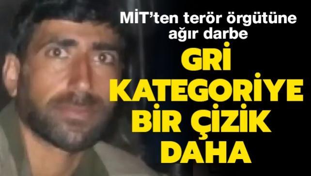 Terör örgütü PKK'nın sözde Sincar gümrük sorumlusu MİT operasyonu ile etkisiz hale getirildi