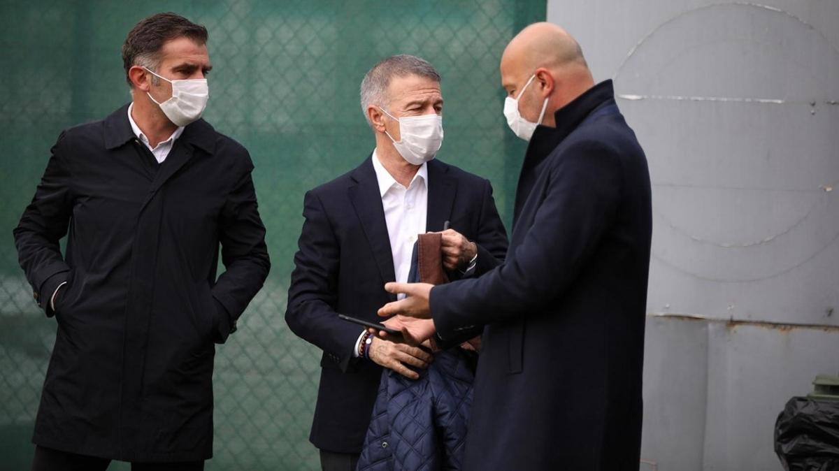 Ahmet Ağaoğlu, Trabzonspor idmanında