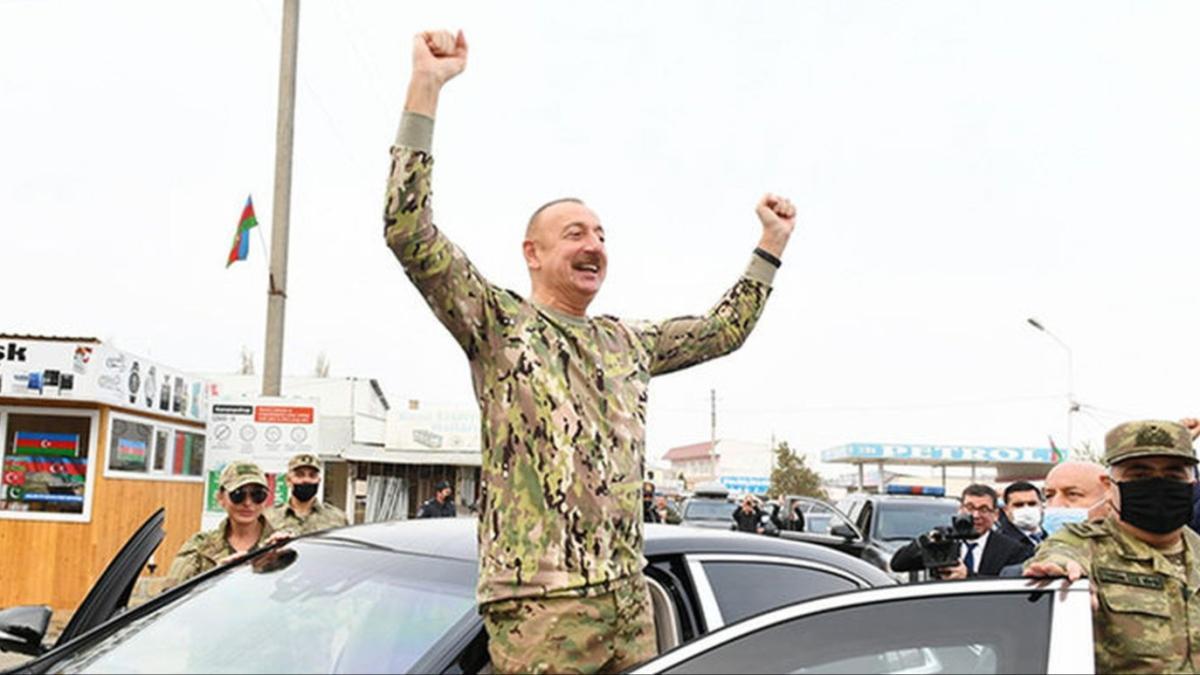 Aliyev Fuzuli ve Cebrayıl bölgelerini ziyaret etti