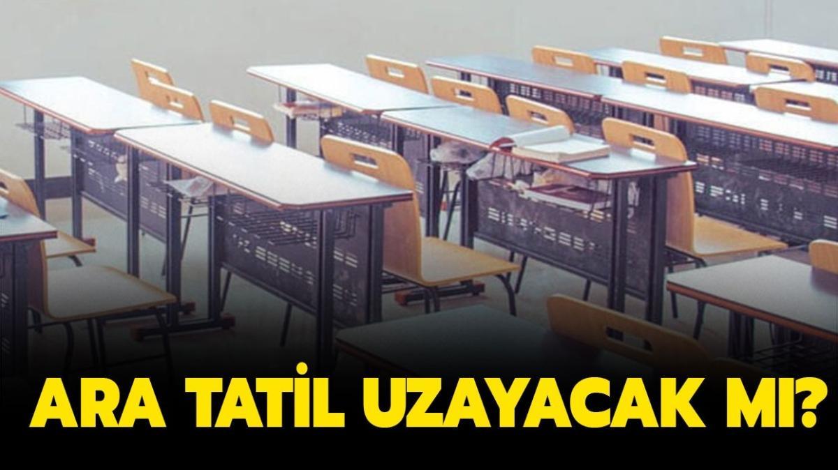"""Okullar kapandı mı"""" Ara tatil ne zaman bitecek"""" Başkan Erdoğan açıkladı!"""