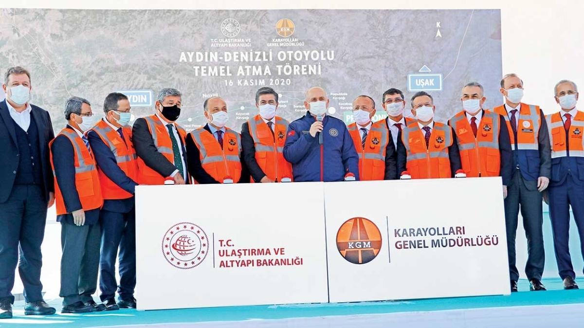 Aydın-Denizli Otoyolu'nun temeli atıldı... Kapıkule'den Akdeniz'e kesintisiz otoyol