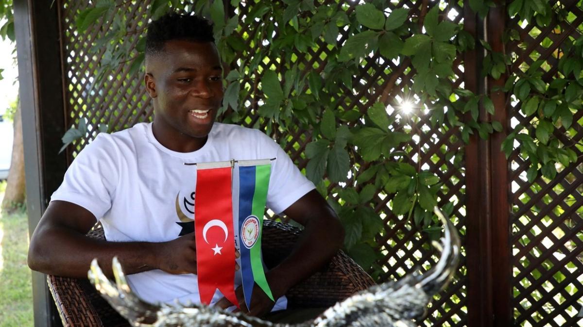 Godfred Donsah, Türkiye'de mutlu: Burası Gana gibi
