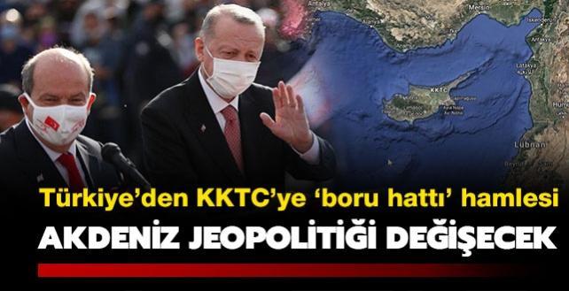 Türkiye'nin 'boru hattı' hamlesi: Doğu Akdeniz jeopolitiğini değiştirecek
