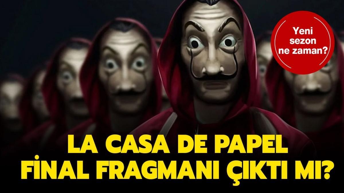 """LCDP final sezonu ne zaman geliyor"""" La Casa De Papel 5. sezon fragmanı çıktı mı"""""""