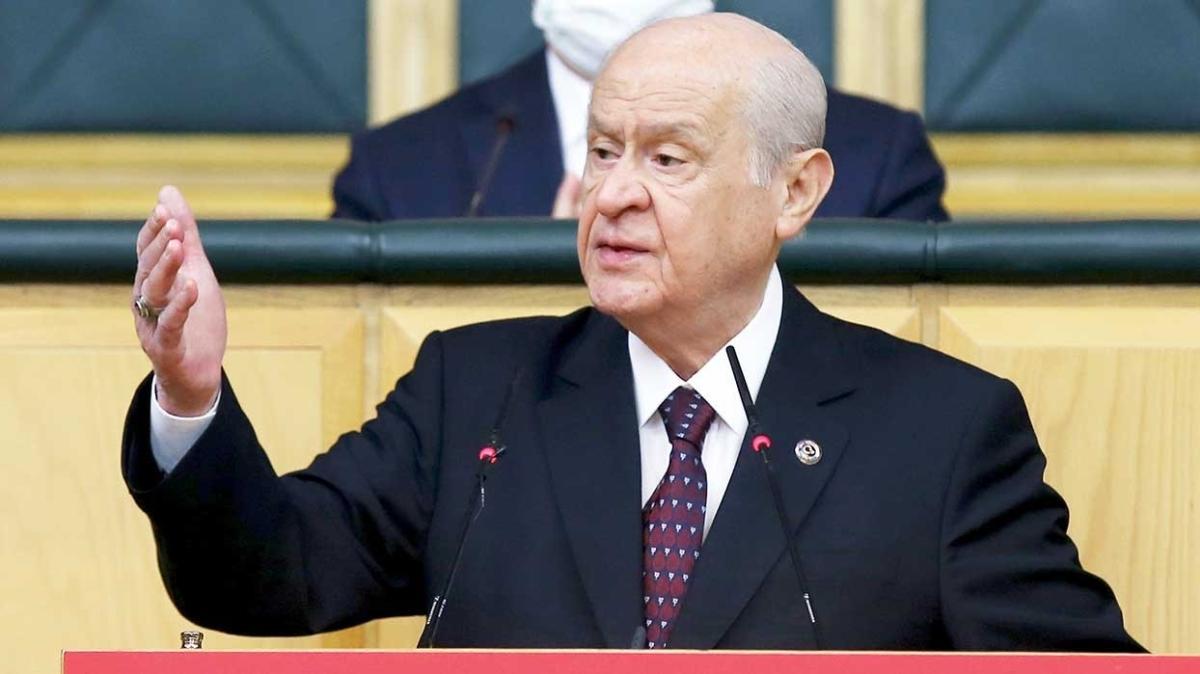 MHP lideri Devlet Bahçeli'den sert tepki: Anayasanın masası PKK, kalemi FETÖ'den