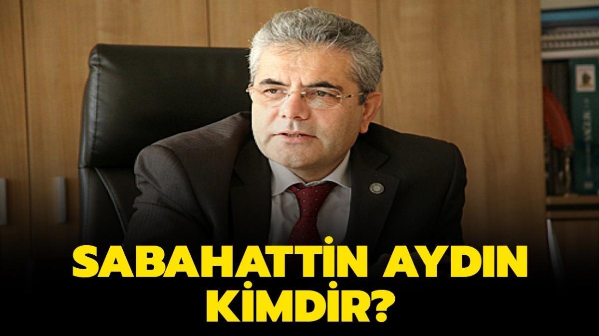 """Sağlık Bakan Yardımcı Sabahattin Aydın kimdir"""" Prof. Dr. Sabahattin Aydın kaç yaşında"""""""