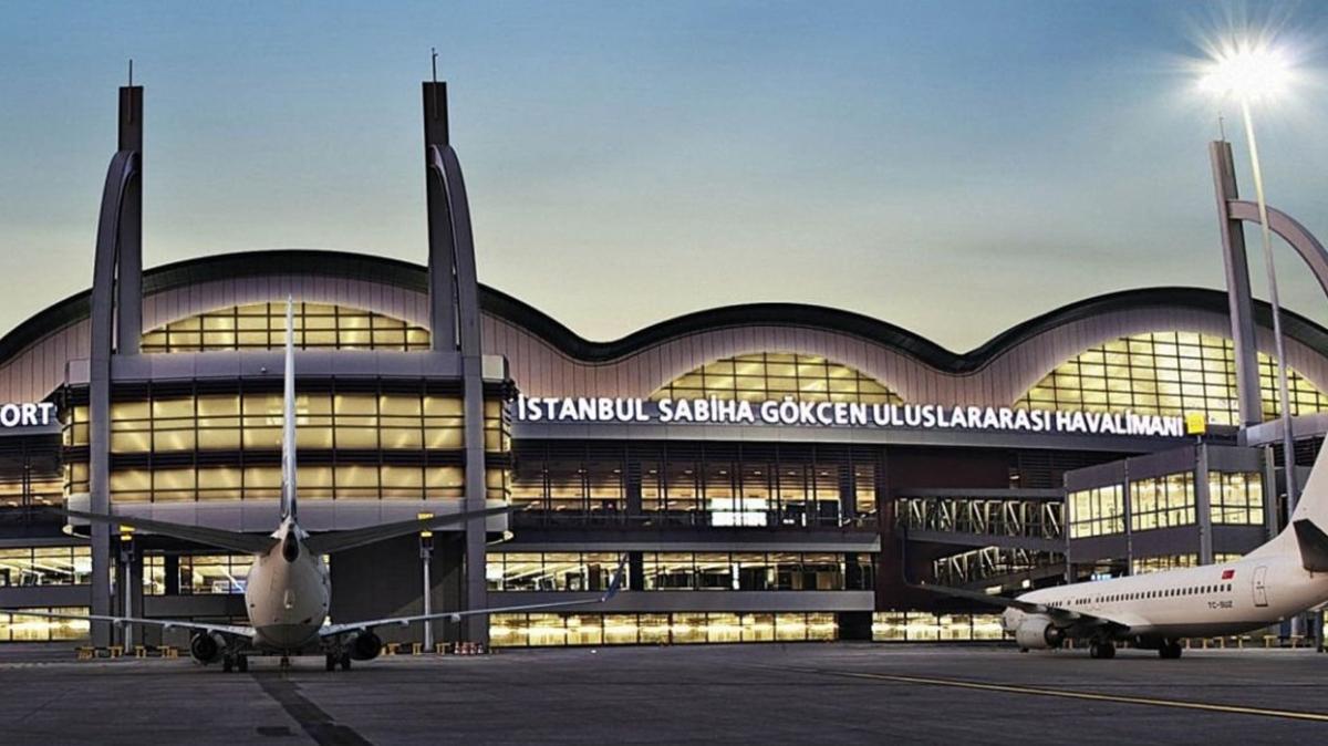 Sabiha Gökçen Havalimanı'na dikkat çeken ödül