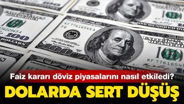 """Merkez Bankası faiz kararı sonrası dolar ne kadar oldu"""""""