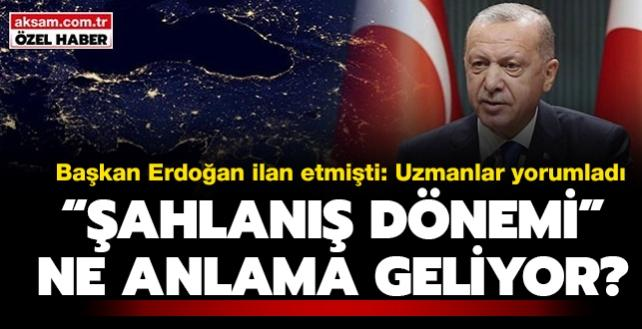 """Başkan Erdoğan 'şahlanış dönemi'ni ilan etti: Peki ne anlama geliyor"""" Uzmanlar yorumladı"""