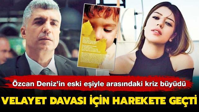 Özcan Deniz, büyük kriz yaşadığı Feyza Aktan'a velayet davası açtı!