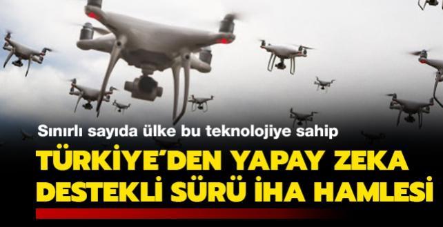 Sınırlı sayıda ülke bu teknolojiye sahip: Türkiye'den yapay zeka destekli sürü İHA hamlesi