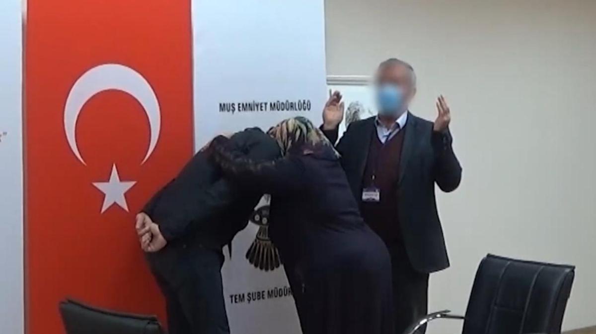 PKK'dan kaçıp ailelerine kavuşan teröristler örgütün iç yüzünü anlattı