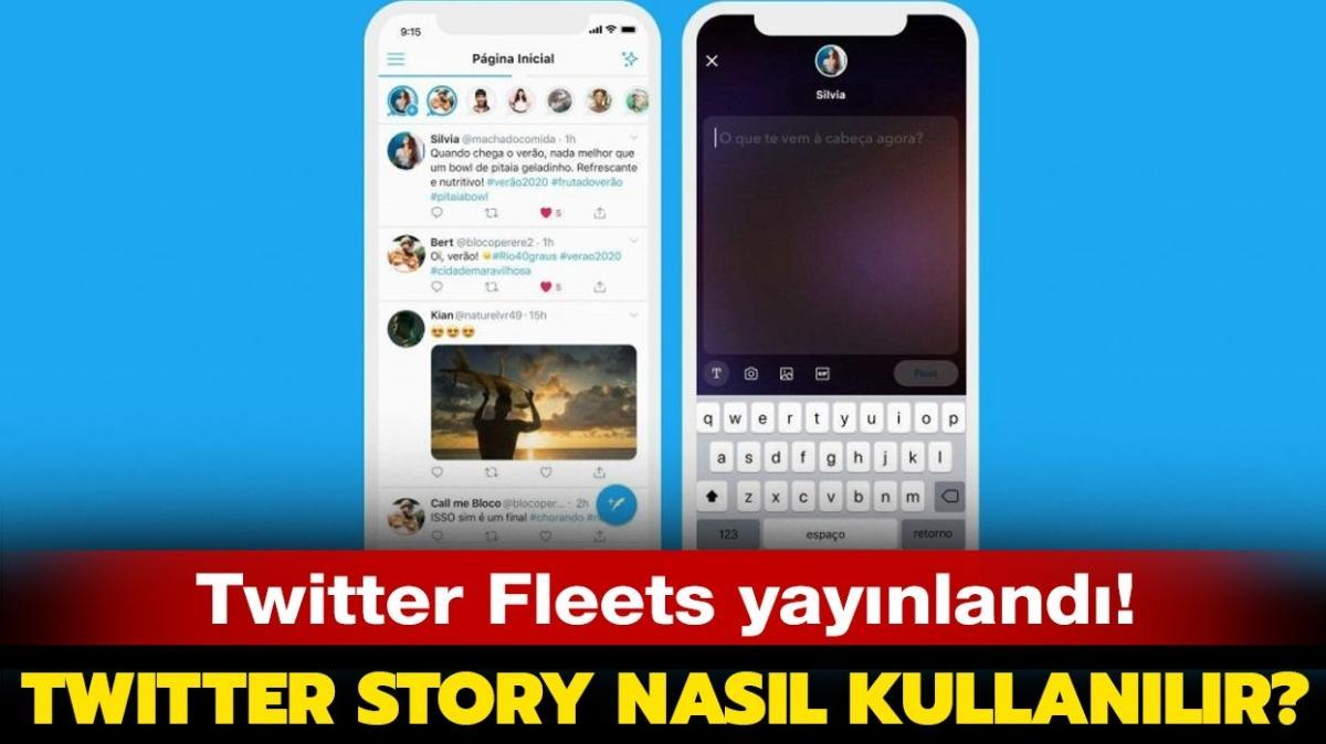 """Twitter Fleets nedir, nasıl kullanılır"""" Twitter hikaye ekleme özelliği Fleets geldi!"""