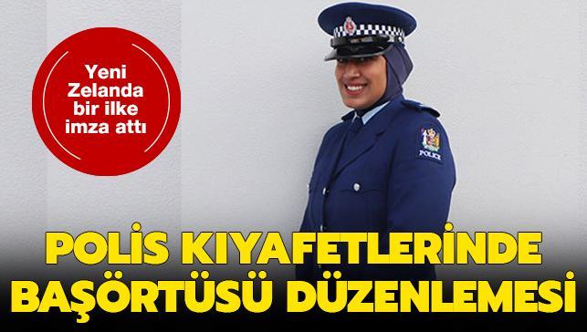 Yeni Zelanda'da polis kıyafetlerine başörtüsü düzenlemesi