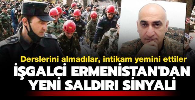 Derslerini almadılar, intikam yemini ettiler! Ermenistan'dan yeni saldırı sinyali