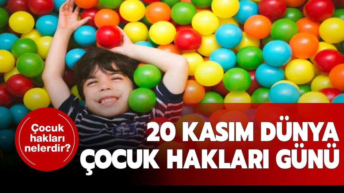 Dünya Çocuk Hakları sözleri ve mesajları! 20 Kasım Dünya Çocuk Hakları Günü kutlanıyor!