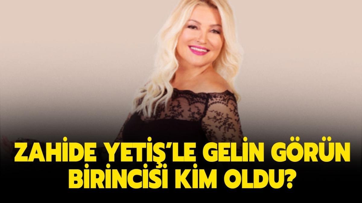 """Zahide Yetiş'le Gelin Görün hafta birincisi belli oldu! 20 Kasım Zahide Yetiş'le Gelin Görün kim kazandı"""""""