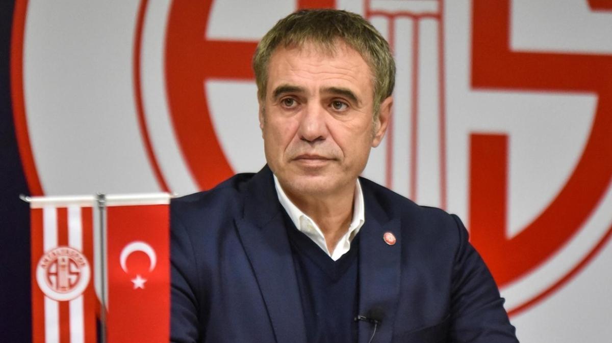 Ersun Yanal, Antalyaspor'daki hedefini açıkladı