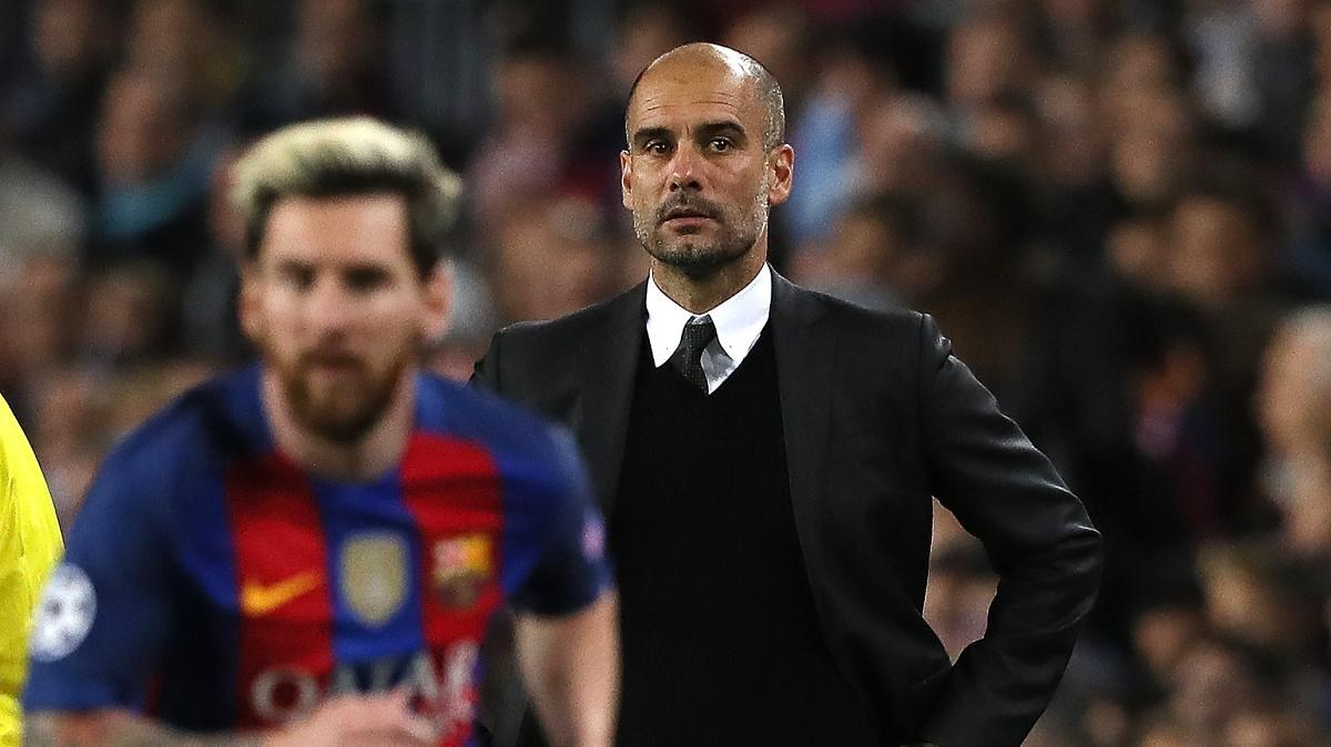 Pep Guardiola'dan Lionel Messi transferine yeşil ışık