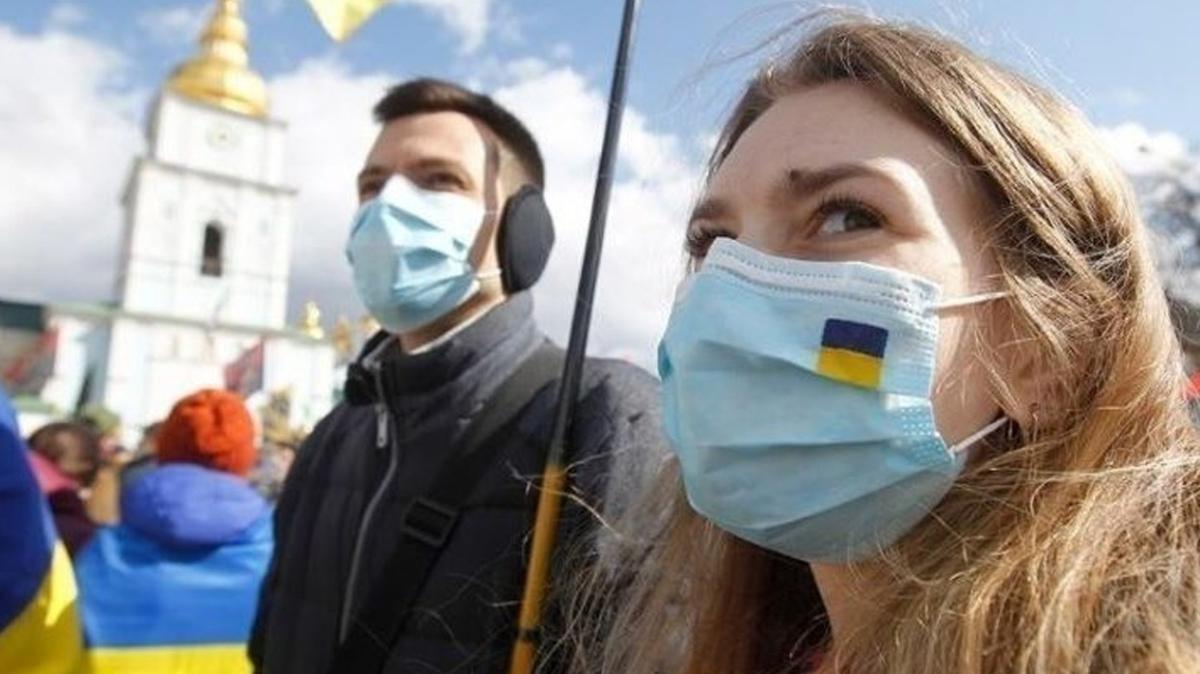 Ukrayna'da Kovid-19'da rekor sayı: 14 bin 575 yeni vaka tespit edildi