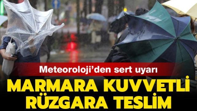 21 Kasım Meteoroloji hava durumu: İstanbul'da sağanak ve kuvvetli rüzgara dikkat