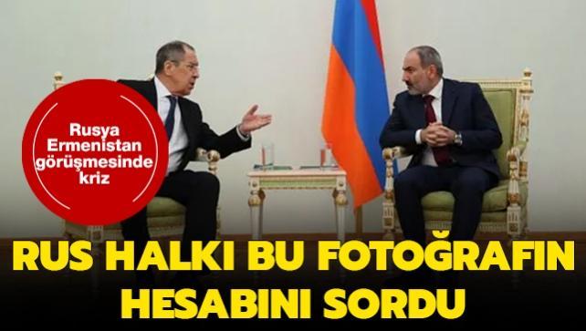 Rusya-Ermenistan görüşmesinde bayrak krizi: Rus halkı hesap sordu