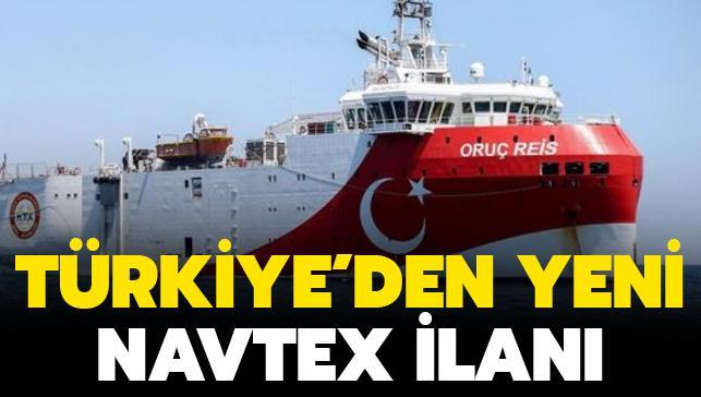 Son dakika haberi... Türkiye'den yeni Navtex ilanı